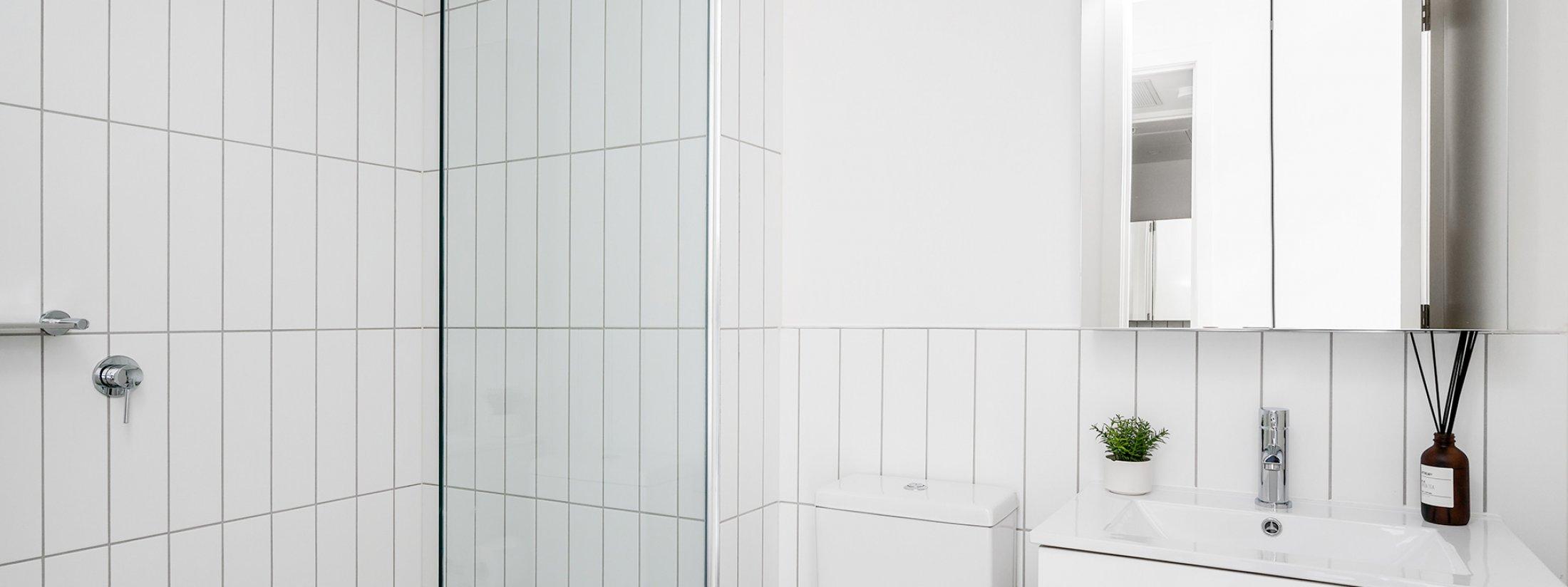 Axel Apartments - The Clarke - Glen Iris - Bathroom Shared