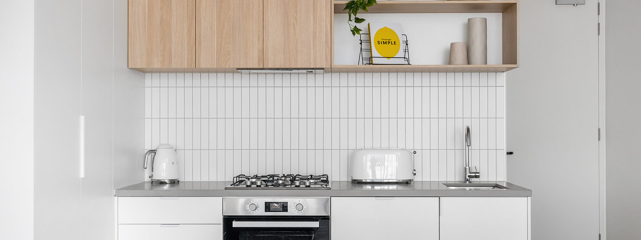 Axel Apartments - The Clarke - Glen Iris - Kitchen