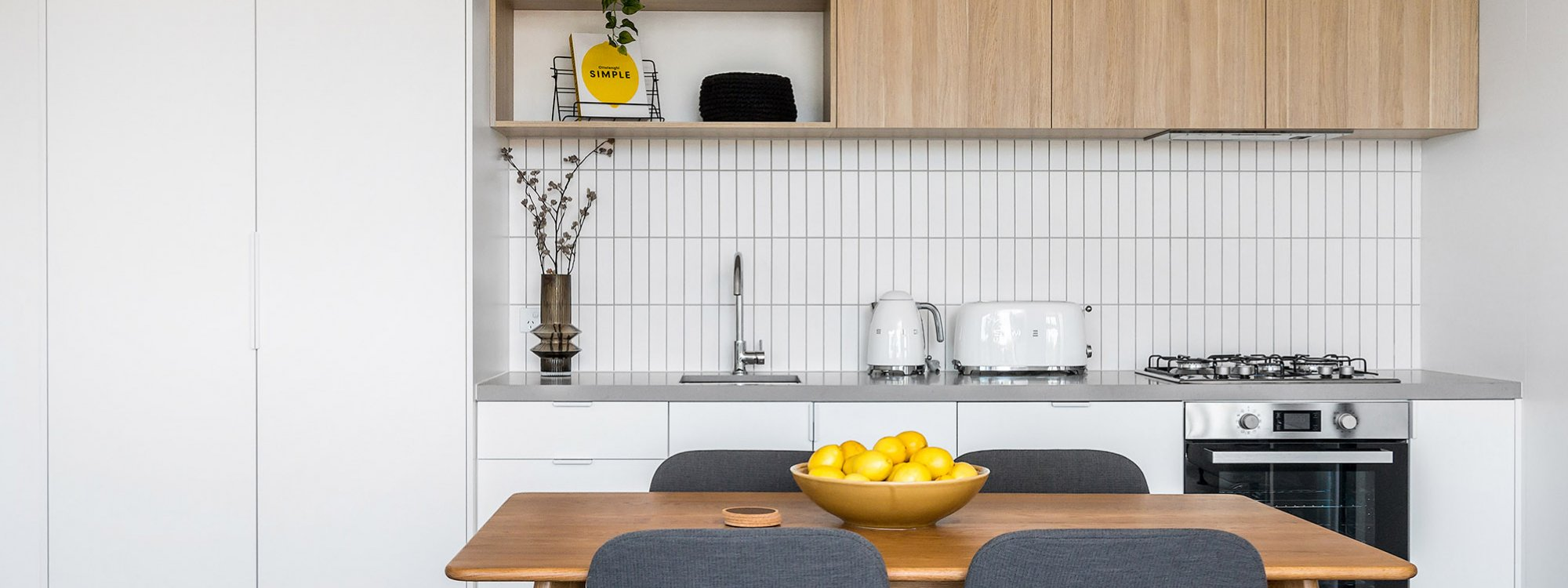 Axel Apartments - The Lawson - Glen Iris - Dining and Kitchen c