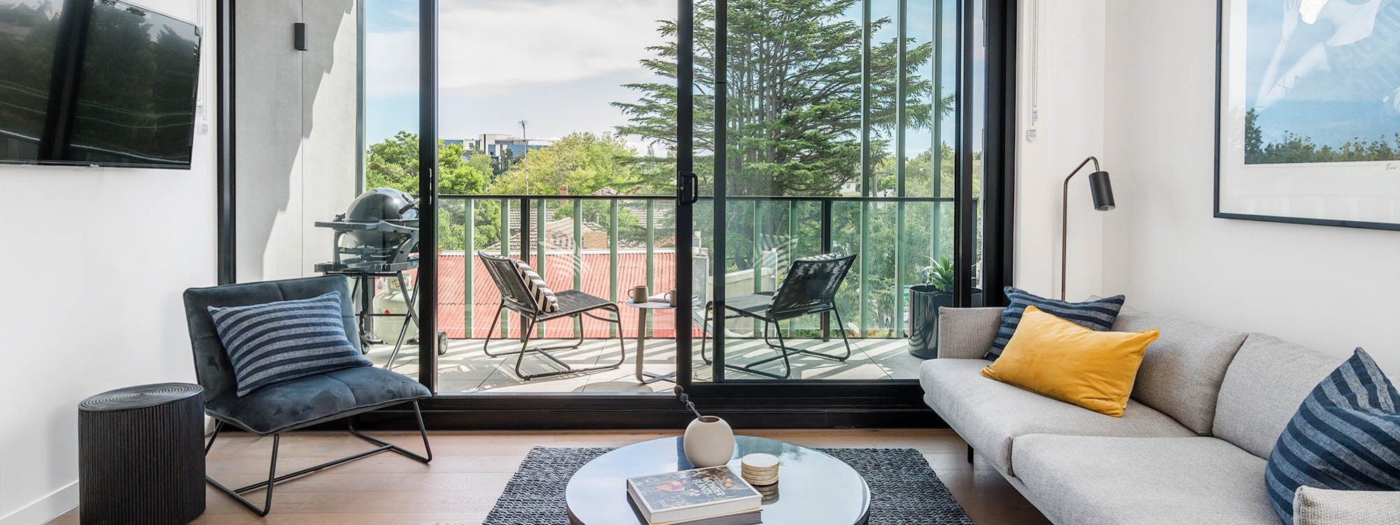 Axel Apartments - The Lawson - Glen Iris - Living