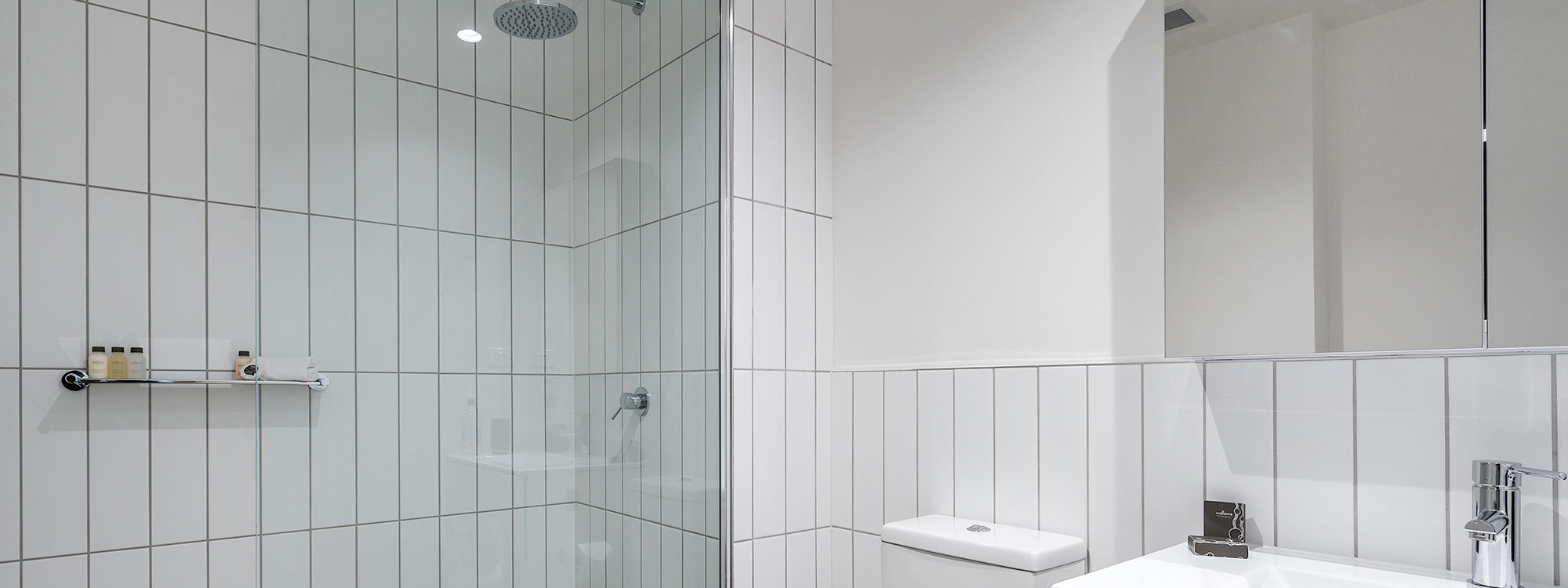 Axel Apartments - The Parkin - Glen Iris - Bathroom