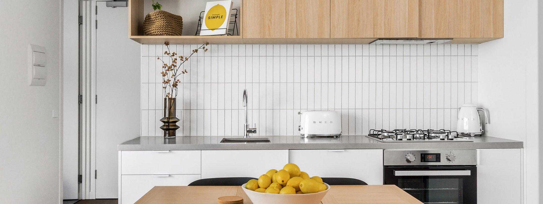 Axel Apartments - The Parkin - Glen Iris - Kitchen