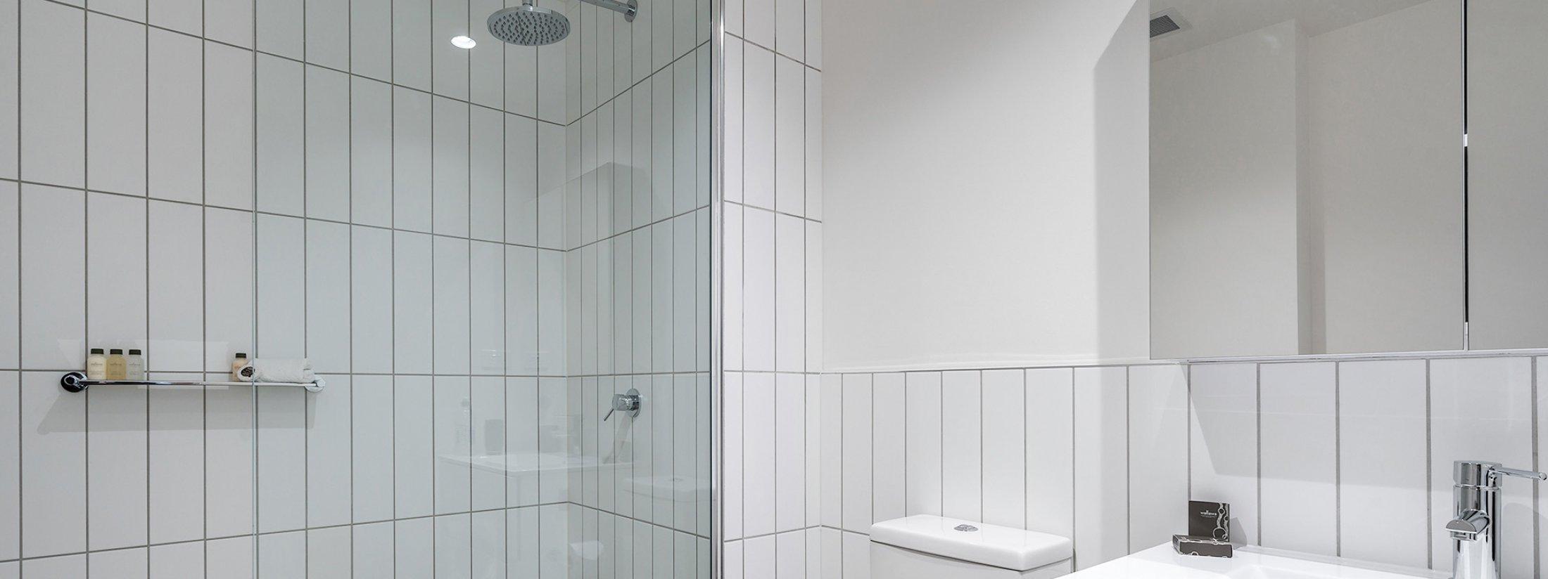 Axel Apartments - The Radnor - Glen Iris - Bathroom