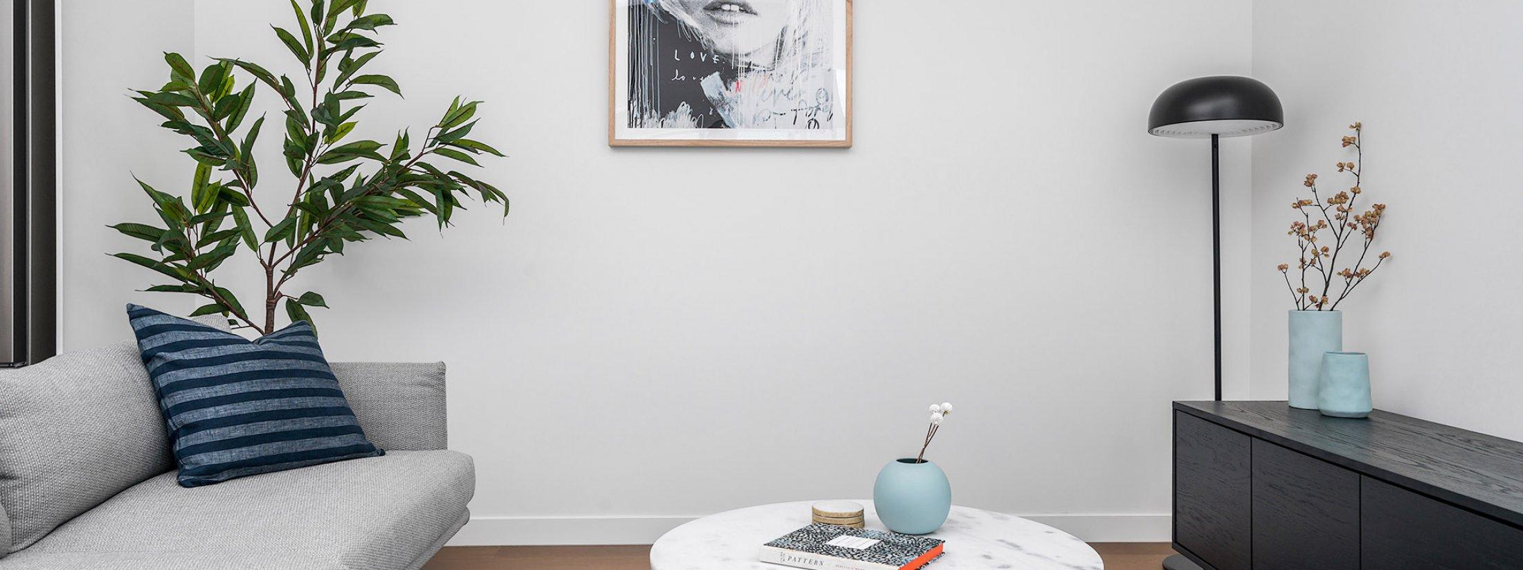 Axel Apartments - The Radnor - Glen Iris - Living Area
