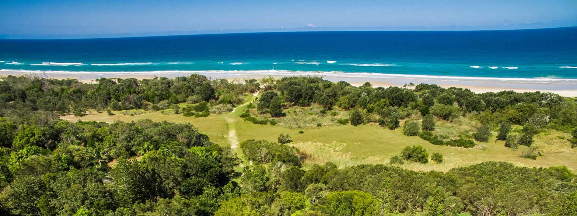 Baby Blue - Byron Bay - Aerial View d