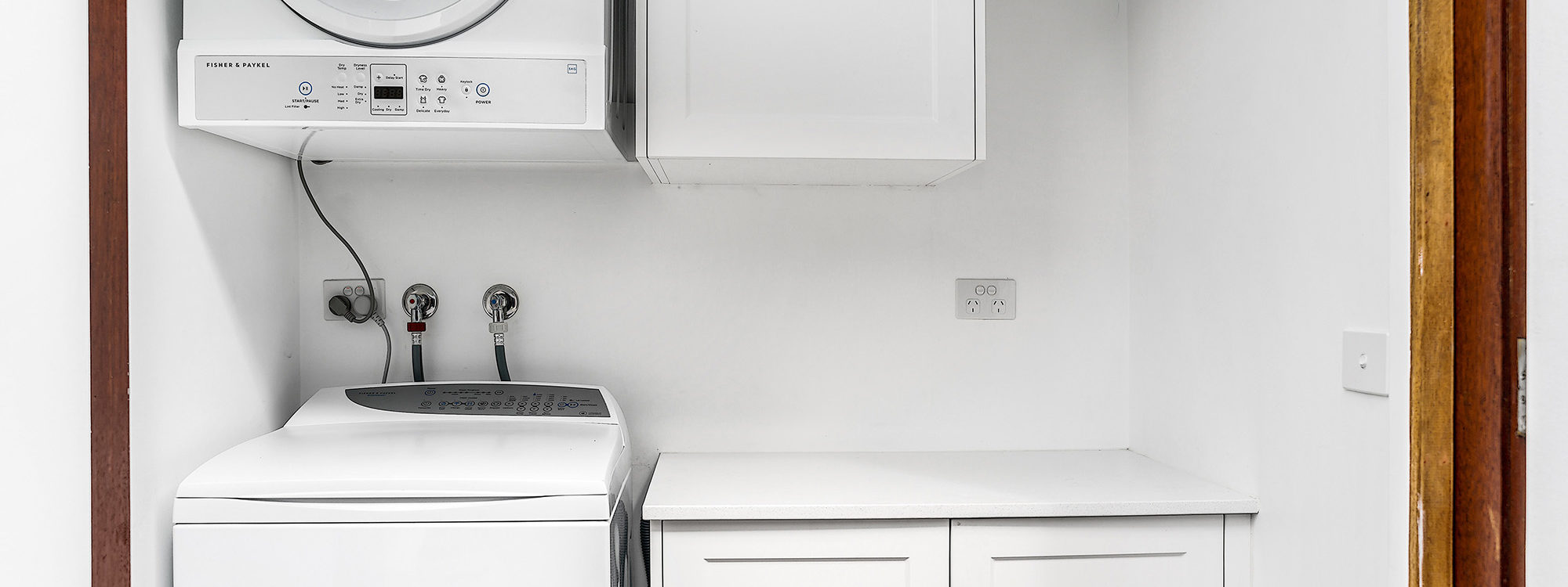 Bahari Studio - Byron Bay - Laundry