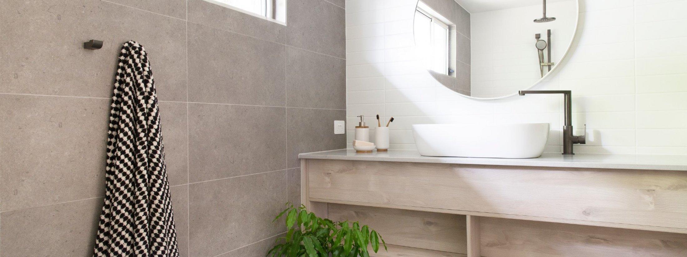 Barrel and Branch - Byron Bay - studio bathroom vanity