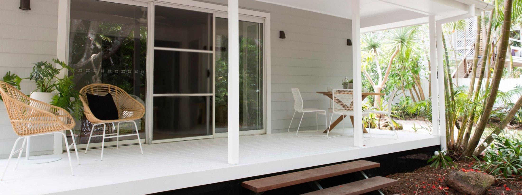 Barrel and Branch - Byron Bay - studio bedroom entrance