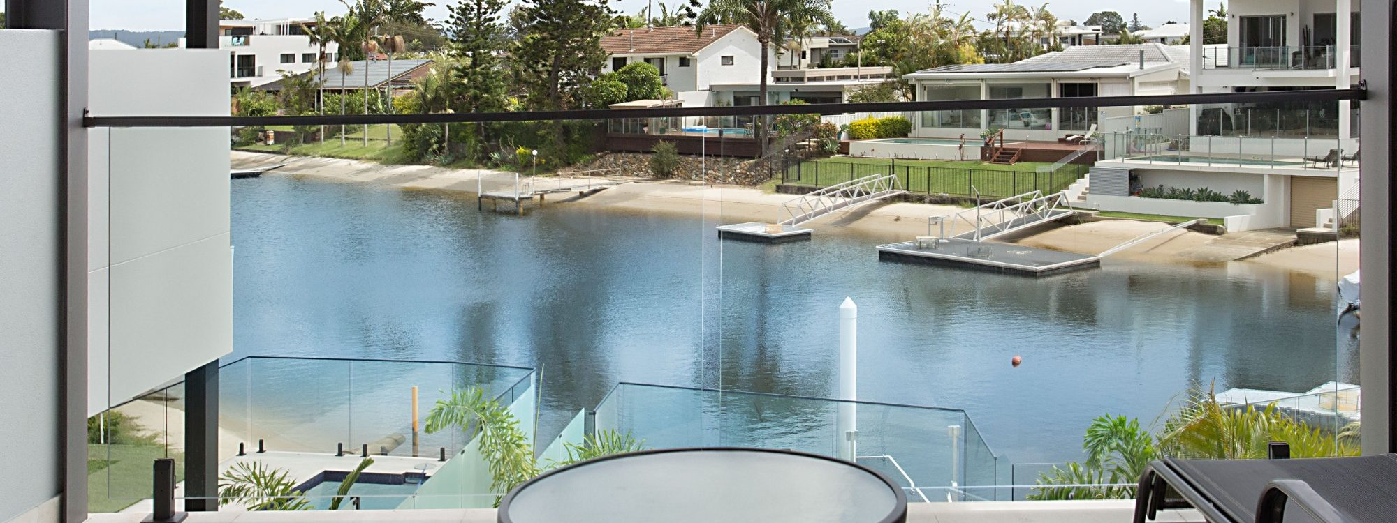 Bay Breeze - Broadbeach waters - Gold Coast - Balcony off Master Bedroom