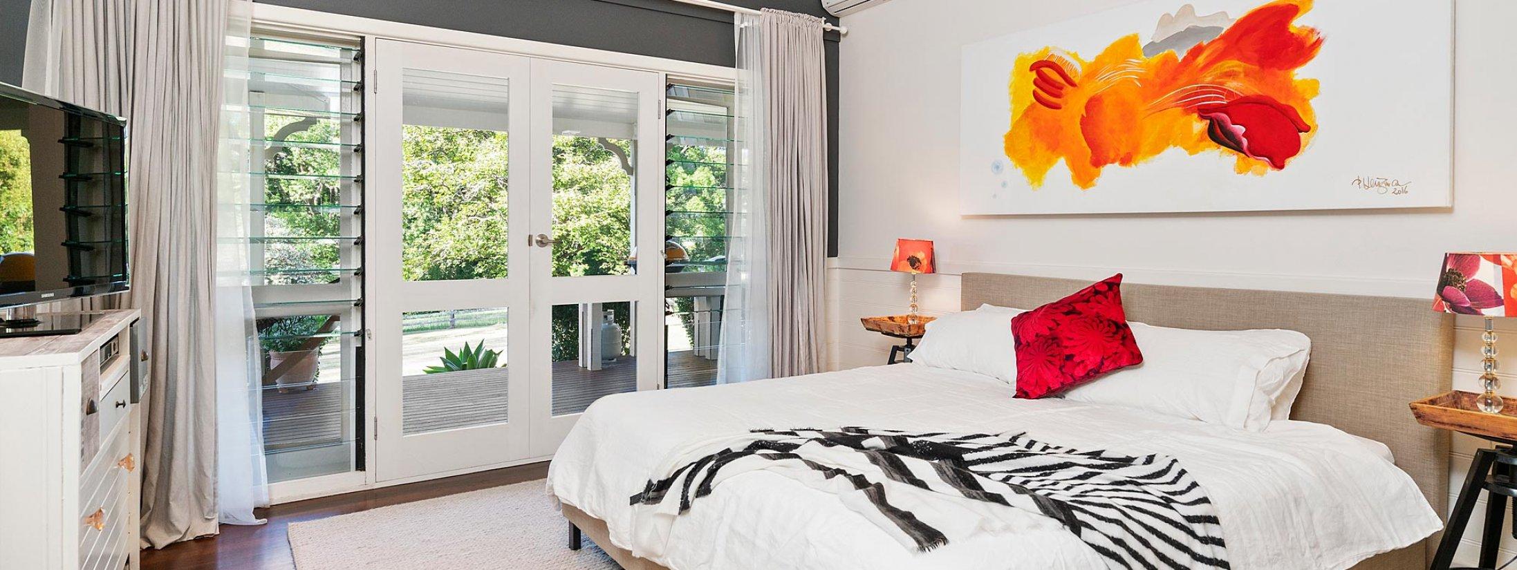 Bellbird - Byron Bay - Master Bedroom a