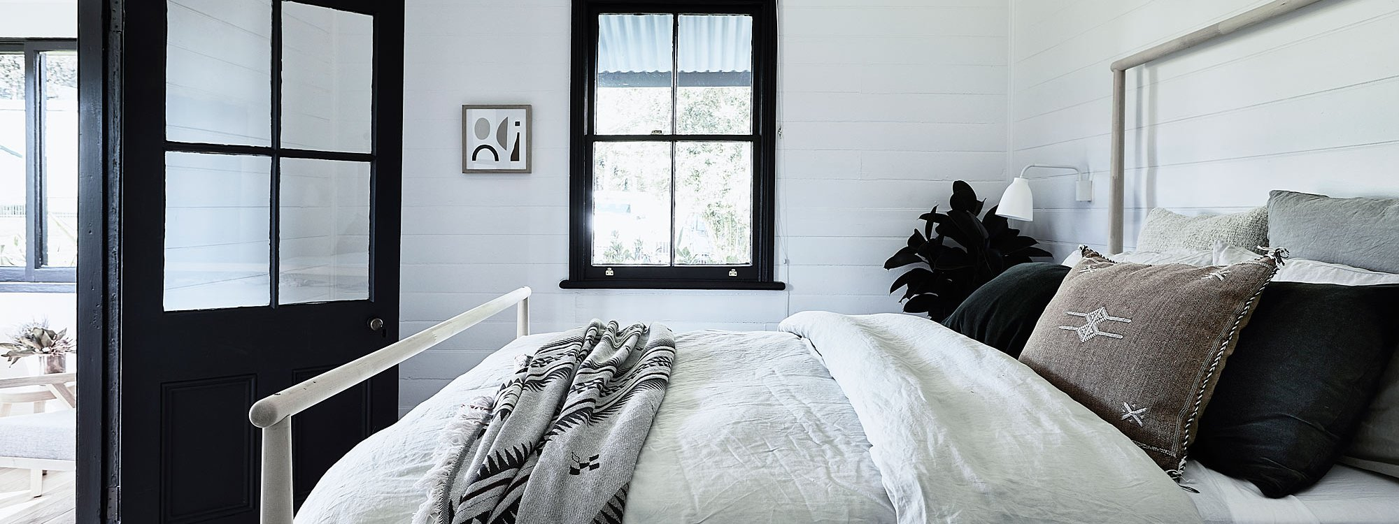 Bennys Cottage - Byron Bay - Real Living Shoot Master Bedroom