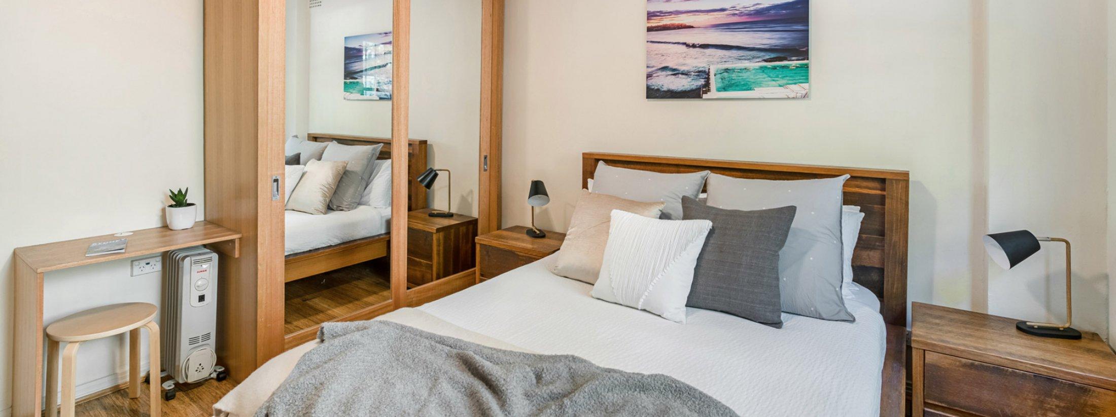 Bondi Beach Peach - Bedroom