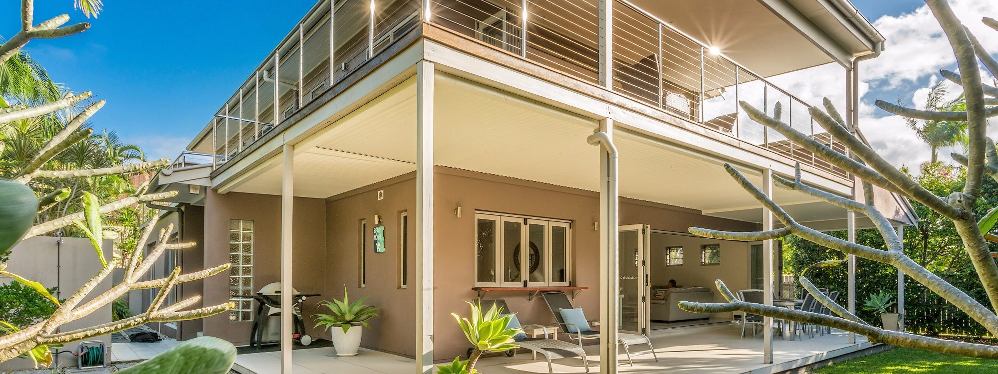 Byron Beach Style - Exterior Back View