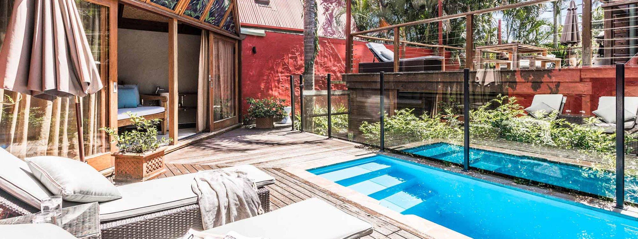 Byron Blisshouse - Byron Bay - Penthouse - Pool and Cabana d