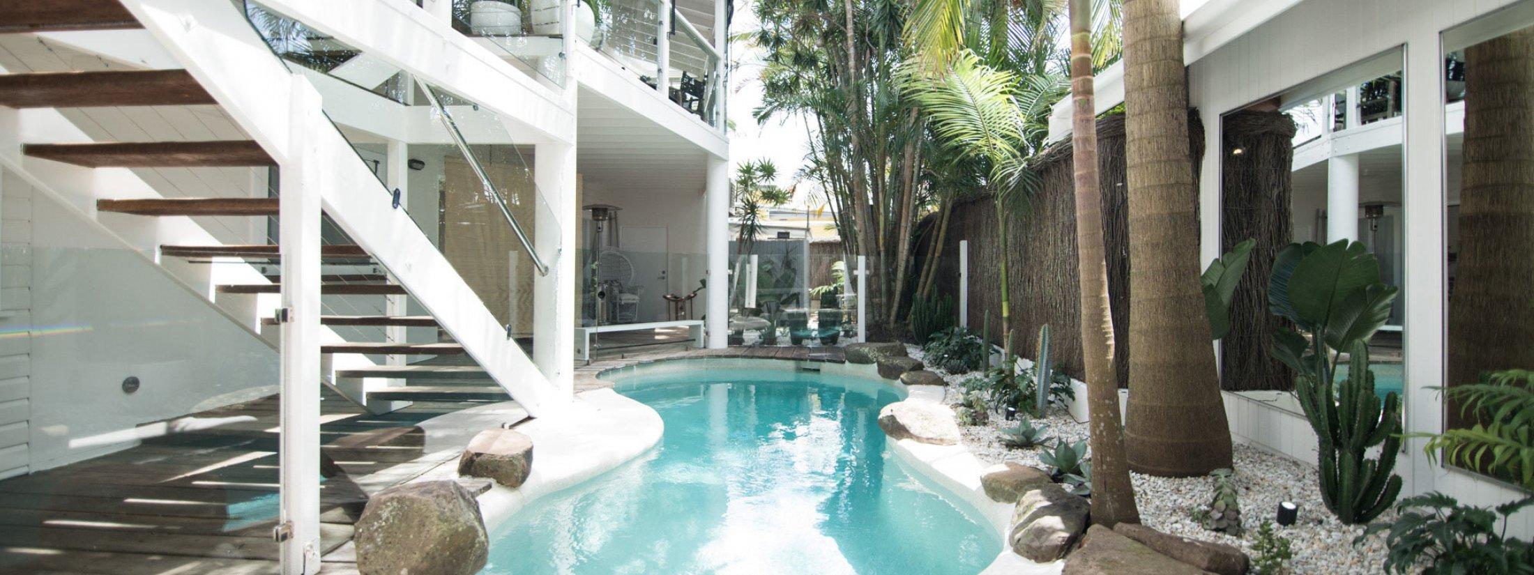 Cactus Rose Villa - Pool Area
