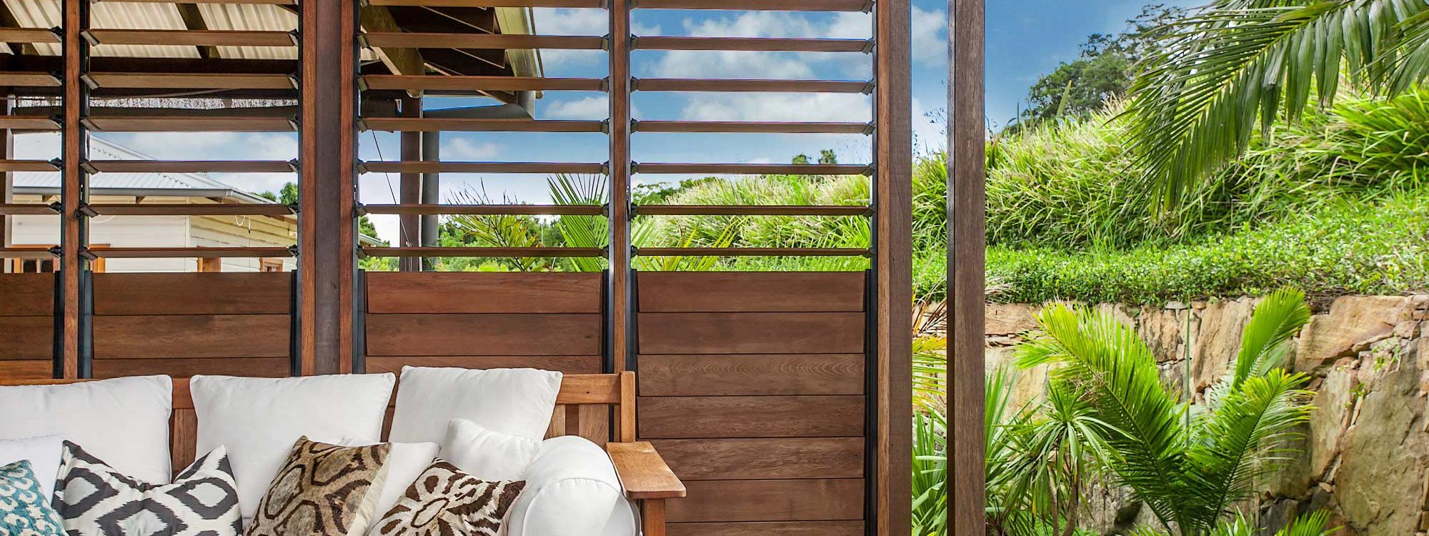 Callistemon View - Byron Bay Hinterland - Federal - Outdoor seating tropical