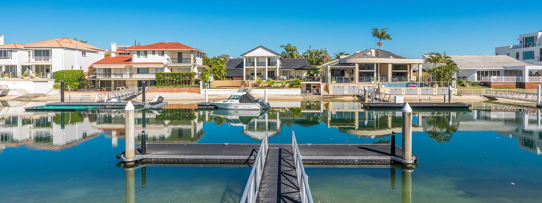 Casa Aqua - Gold Coast - Private Jetty