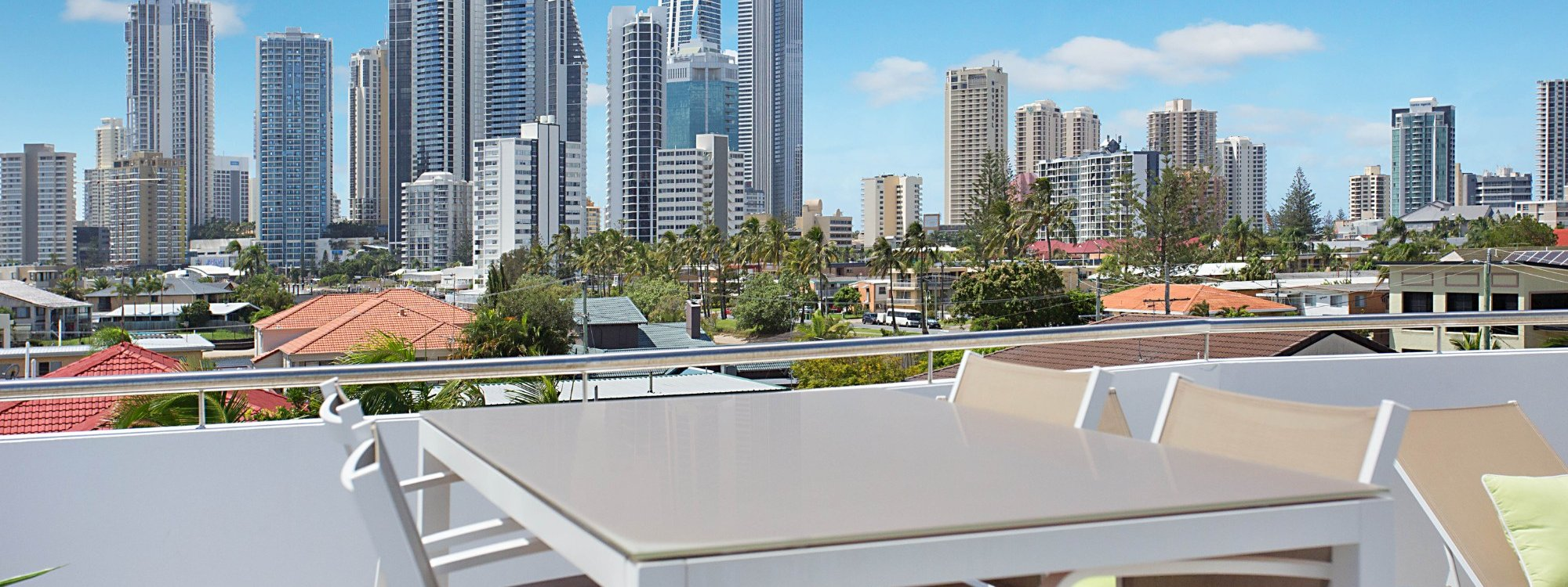 Casa Grande on the Water - Surfers Paradise - Rooftop Terrace Views and sitting area