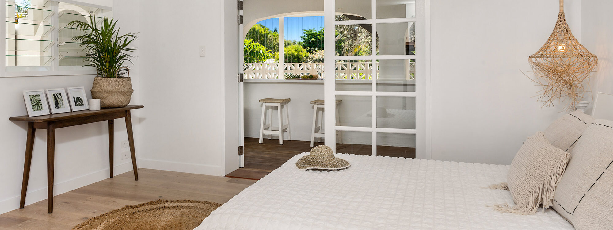 Castaway on Tallows - Byron Bay - Downstairs Queen Bedroom 5