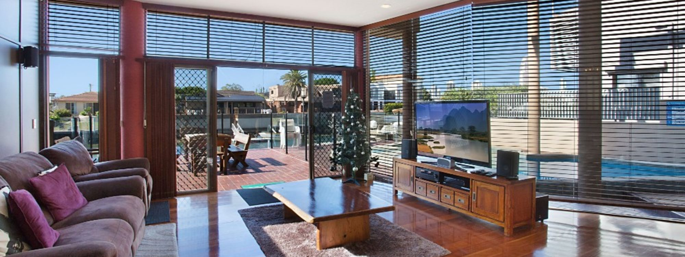 Chevron Oasis - Gold Coast - Living Room Views