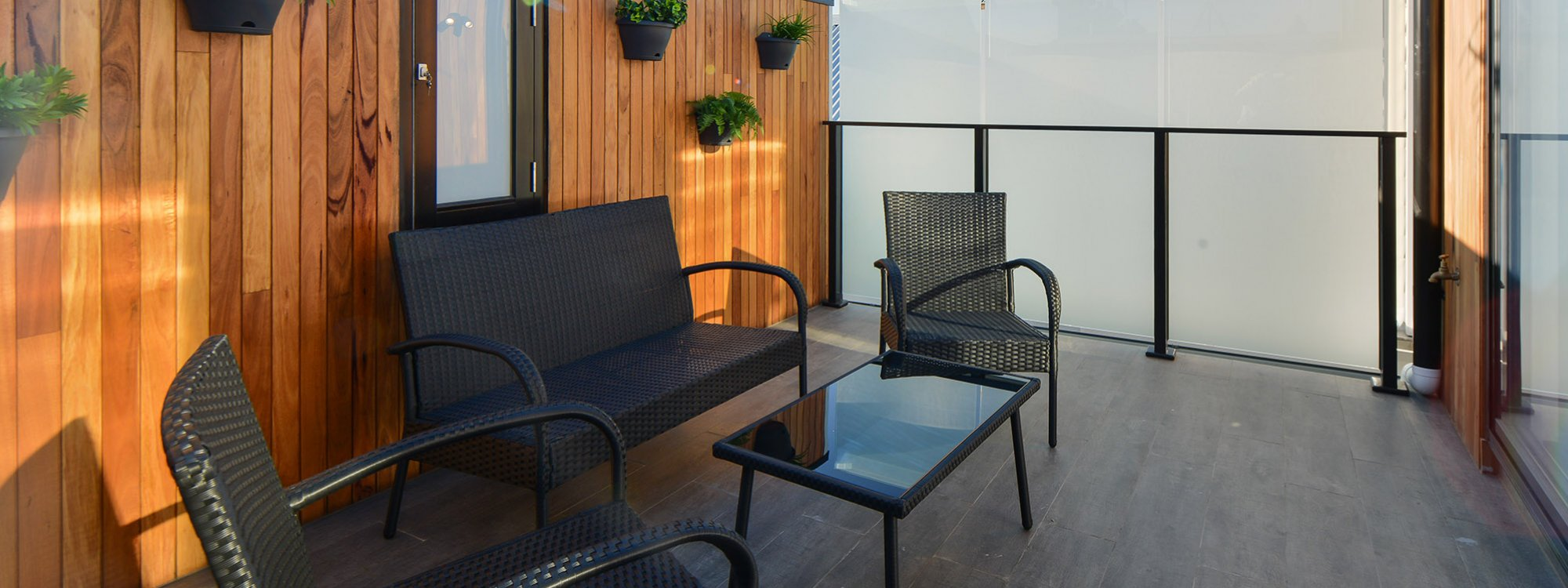 County Down - Port Melbourne - Outdoor Lounge Area