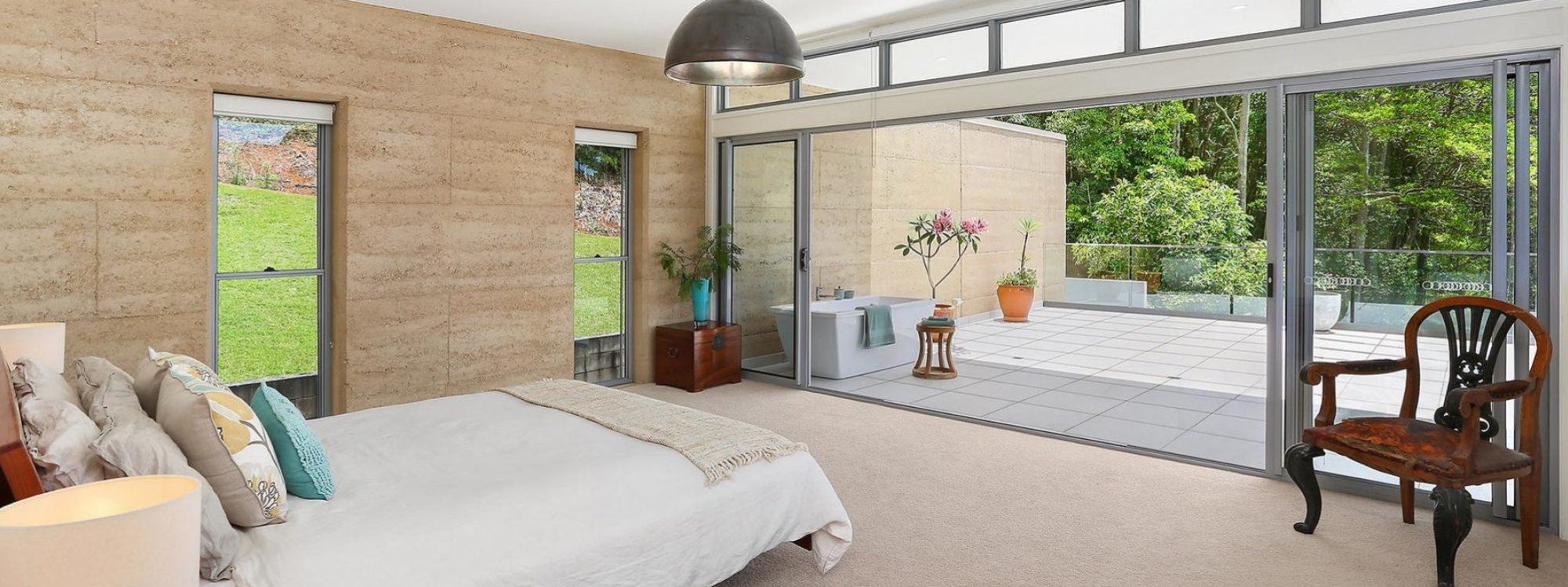 Currumbin Heights - Currumbin - Master Bedroom and Private Balcony b