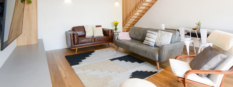 Gigis Place - South Melbourne - Living Room Area c