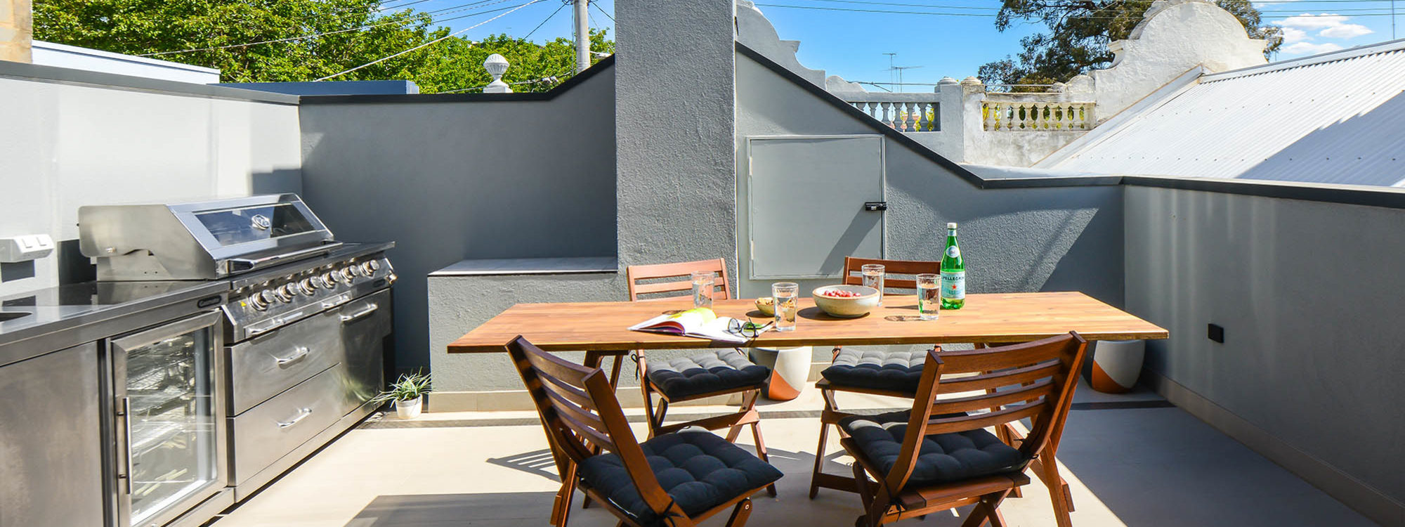 Gigis Place - South Melbourne - Outside Dining Area