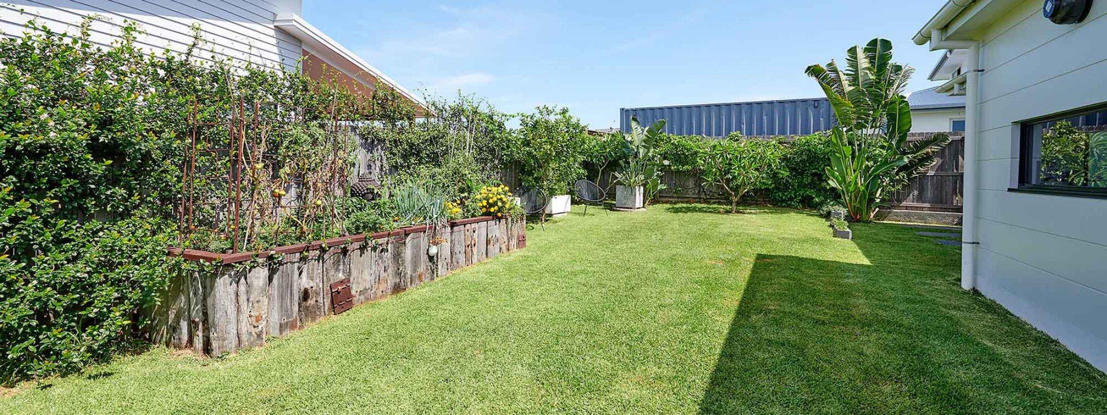 Greenview - Lennox Head - Backyard