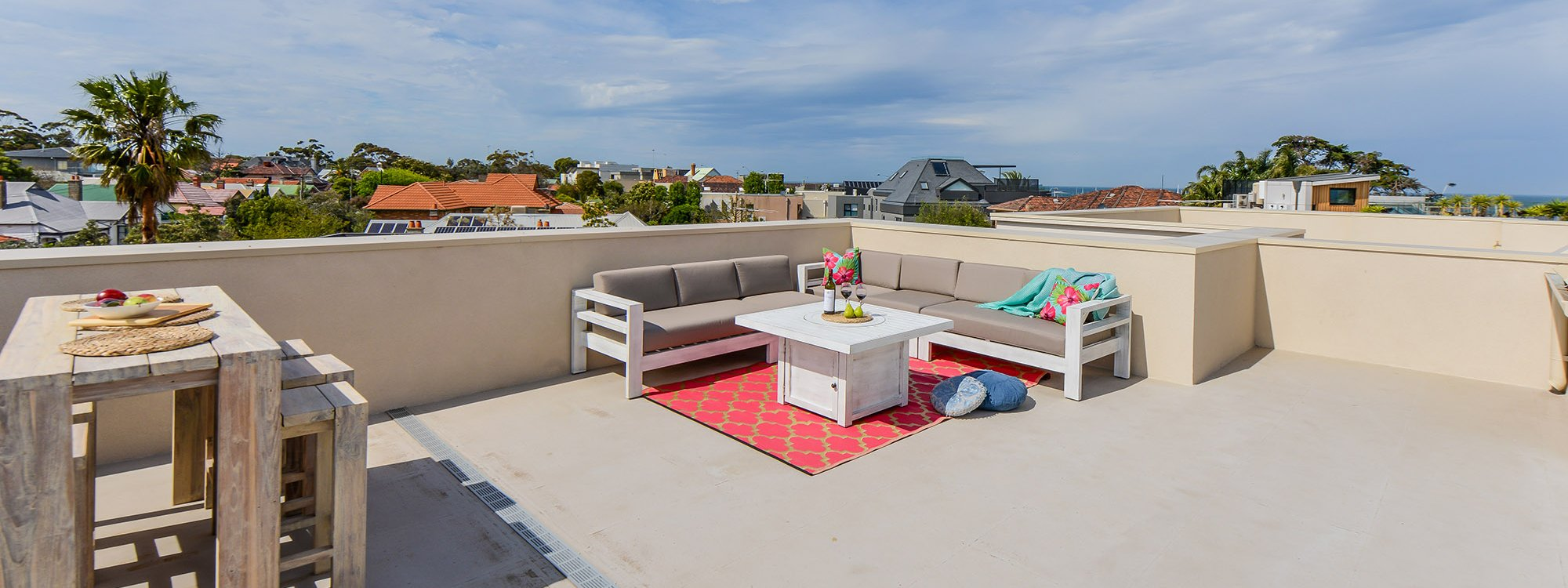 Hampton Lookout - Hampton - Roof Deck Lounge Area