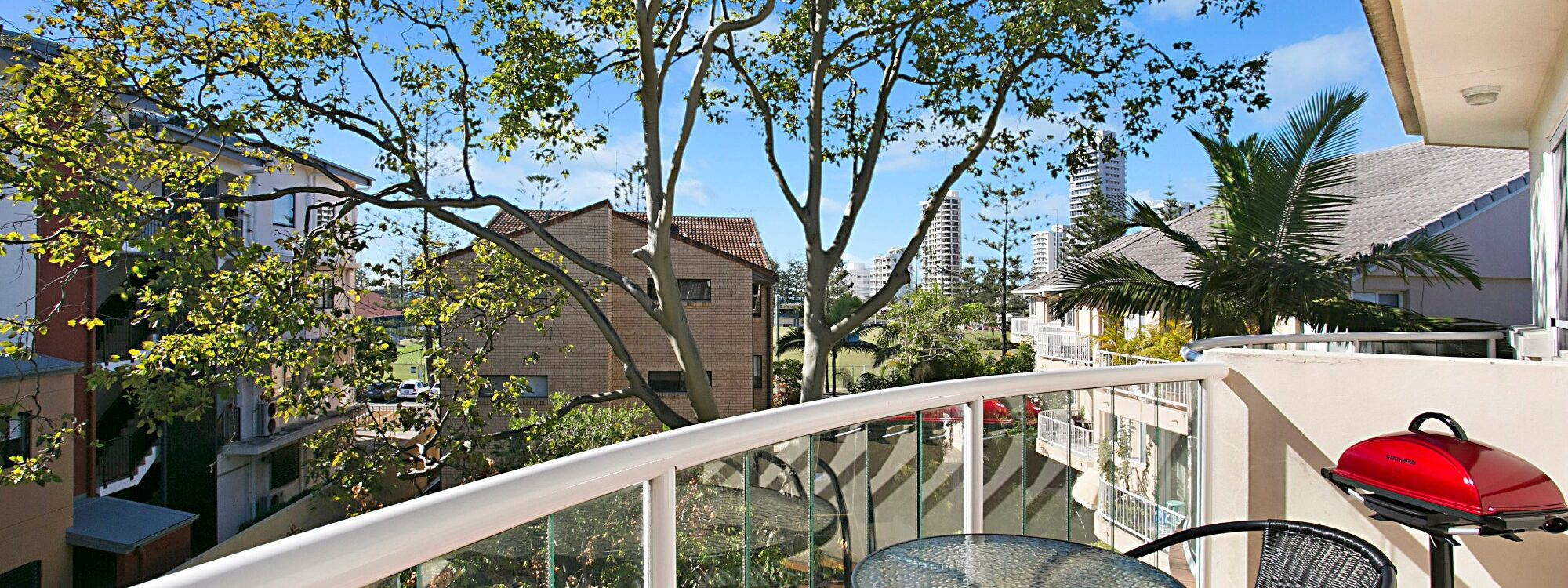 Harmony - Broadbeach - Balcony and view