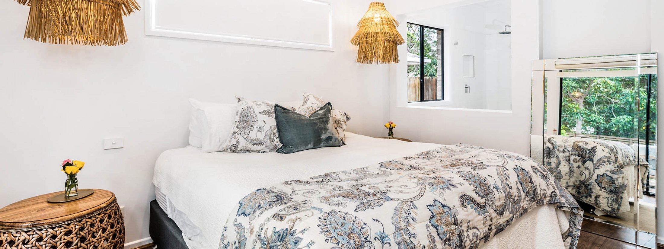 Julian Rocks House - Byron Bay - Master Bedroom c