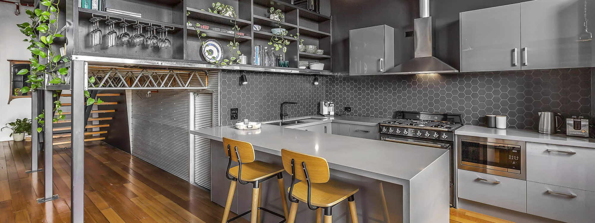 Loft on Rose - Fitzroy - Kitchen d