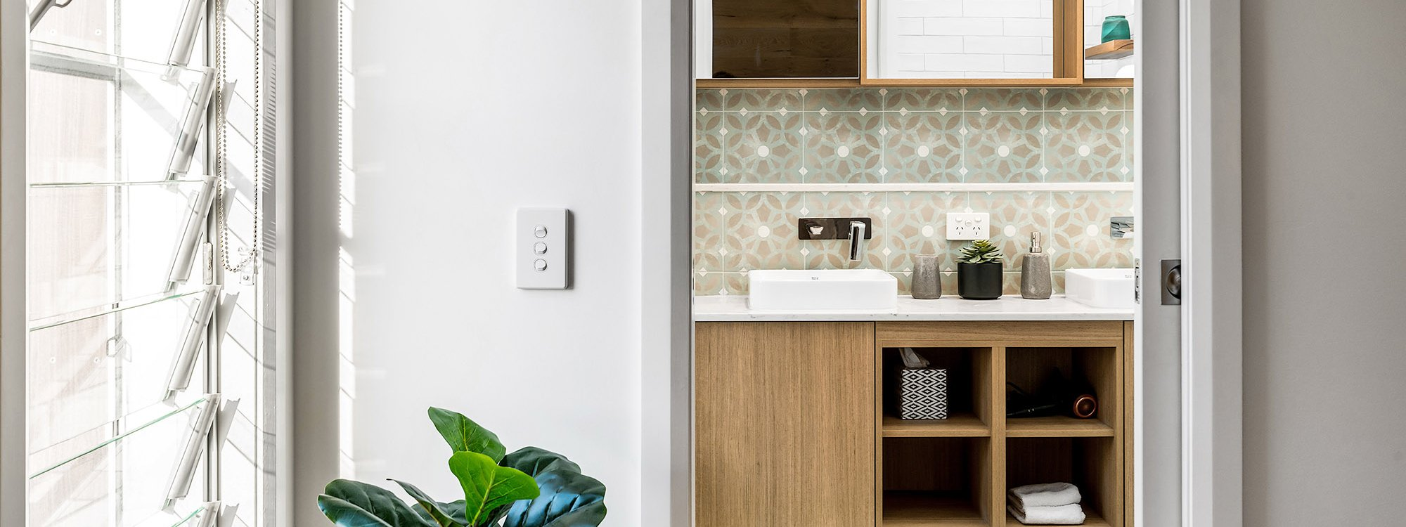 Luxe & Bloom - Brunswick Heads - Shared Bathroom b