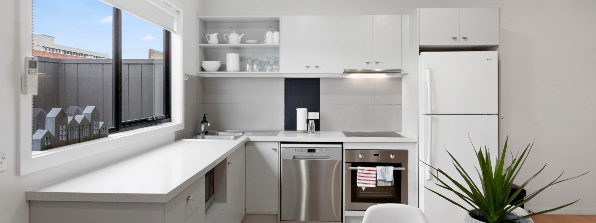 Manallack Apartments Boyd - Melbourne - Kitchen 2