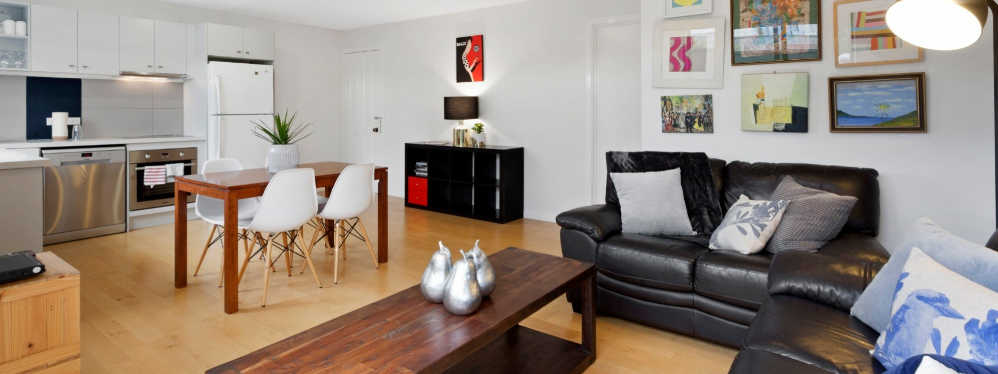 Manallack Apartments Boyd - Melbourne - Living Dining Area 2