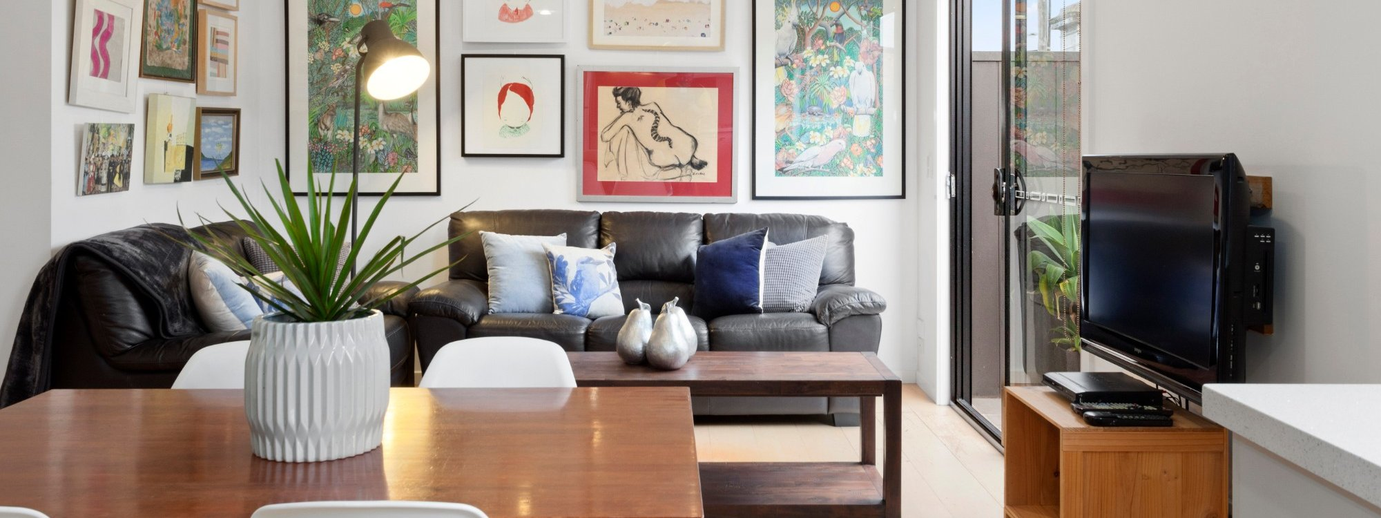 Manallack Apartments Boyd - Melbourne - Living Dining Area