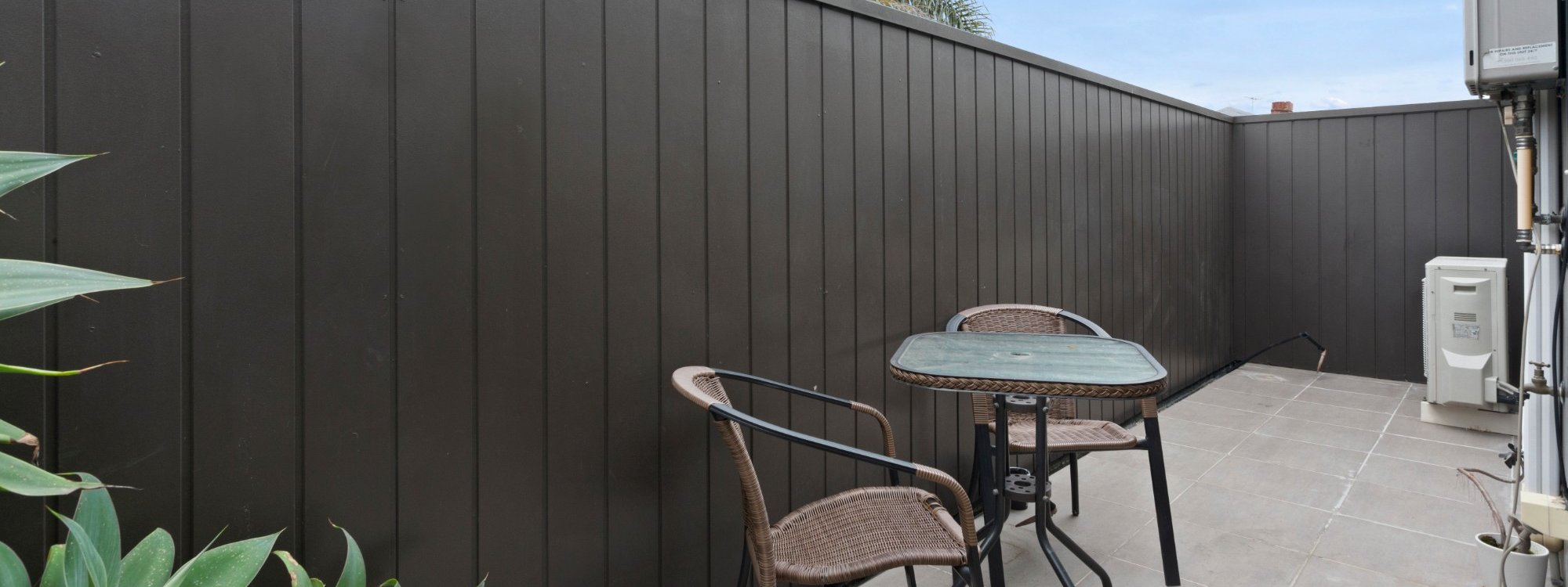 Manallack Apartments Boyd - Melbourne - Patio 1