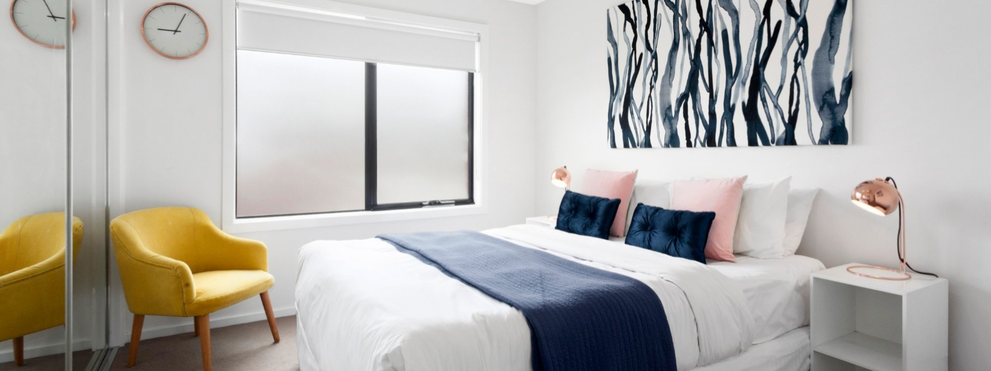 Manallack Apartments Boyd - Melbourne - Queen Bedroom 1