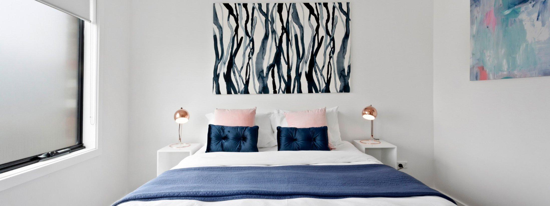 Manallack Apartments Boyd - Melbourne - Queen Bedroom