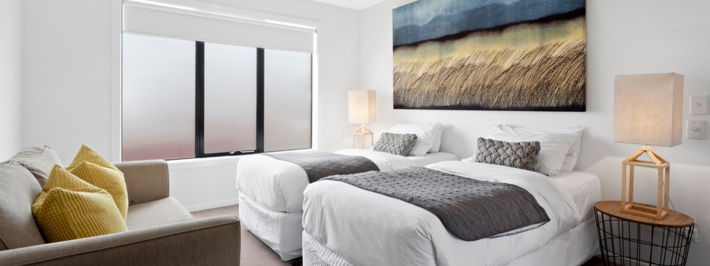 Manallack Apartments Boyd - Melbourne - Twin Single Room 1