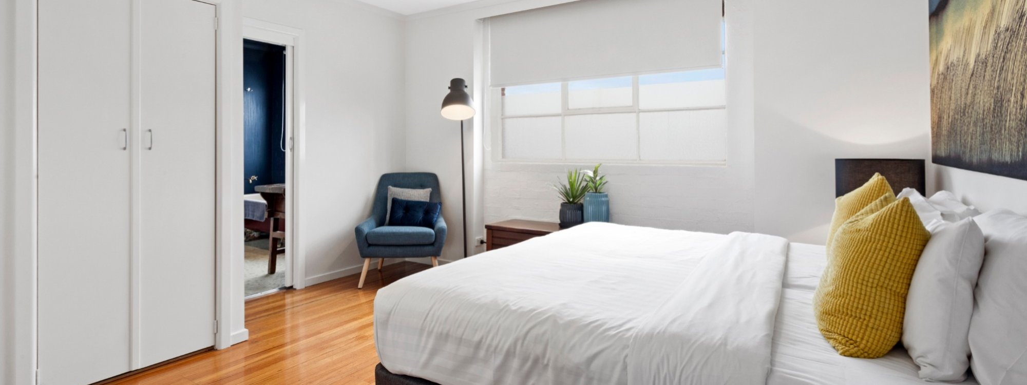 Manallack Apartments Olley - Melbourne - King Bedroom 2