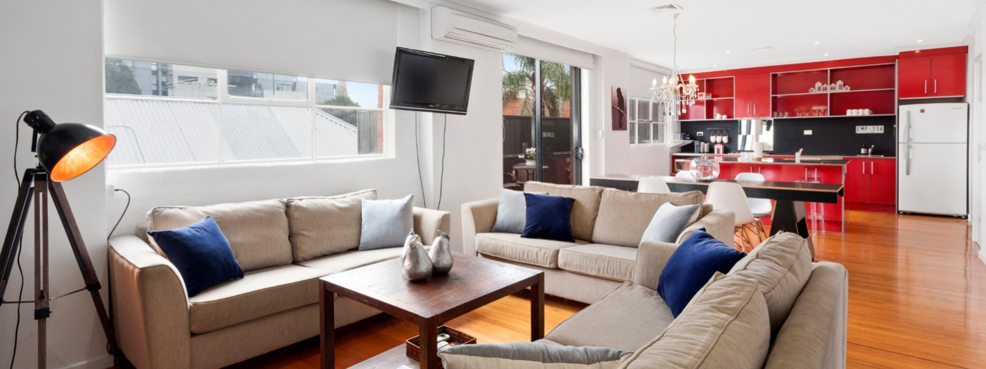 Manallack Apartments Olley - Melbourne - Living Area 2