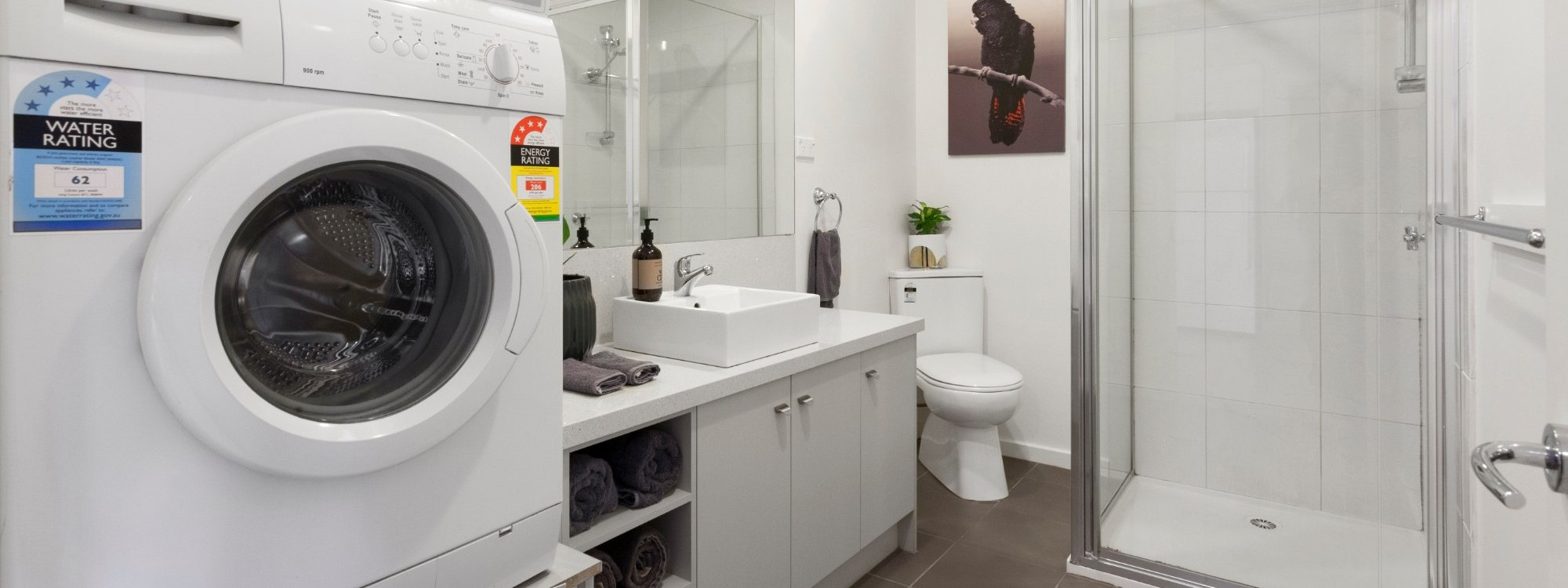 Manallack Apartments Whiteley - Melbourne - Bathroom 1