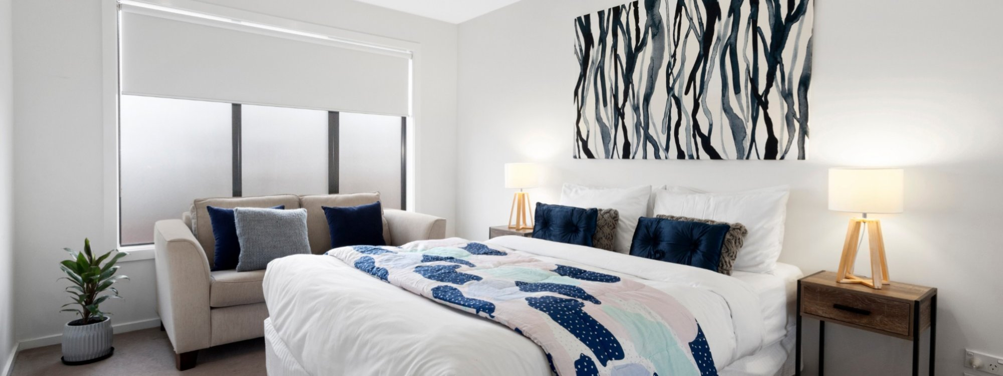 Manallack Apartments Whiteley - Melbourne - Queen Bedroom 3
