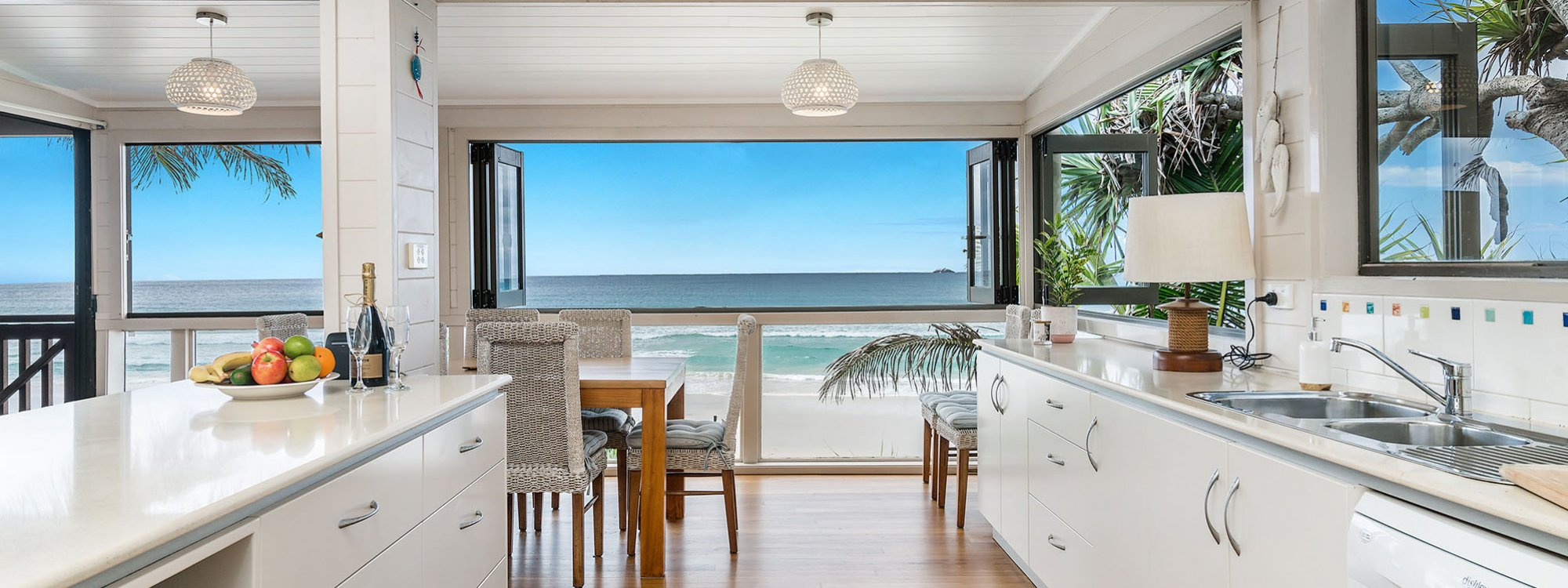 Moonstruck - Byron Bay - Kitchen Towards View