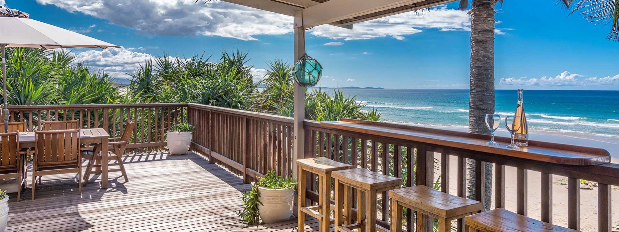Moonstruck - Byron Bay - Upstairs balcony