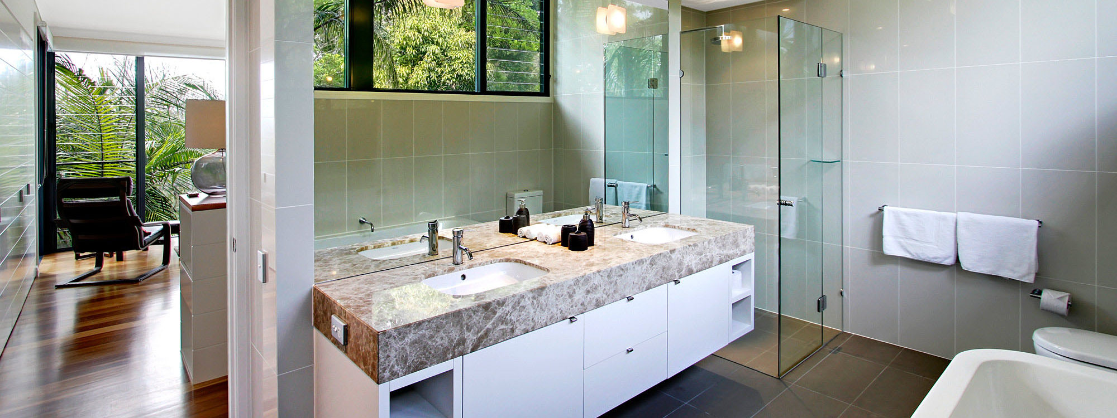 Ocean View at Kiah - Byron Bay - Bathroom Master