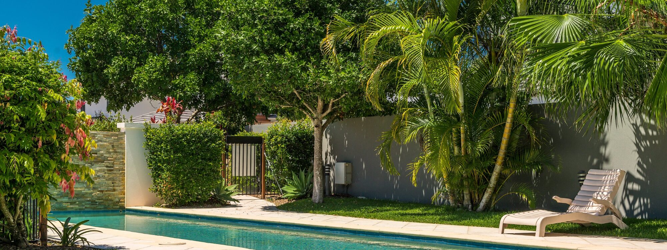 Ocean Walk - tropical pool area
