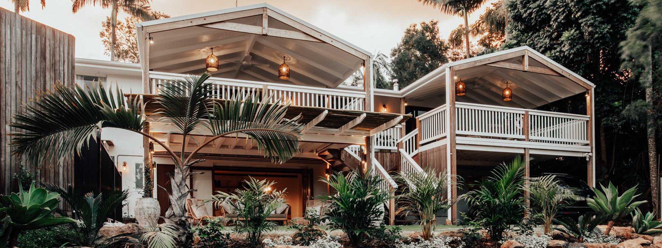 Ohana Hale - Byron Bay - Back of House
